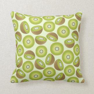 Cute Cut Kiwi Pattern Throw Pillow