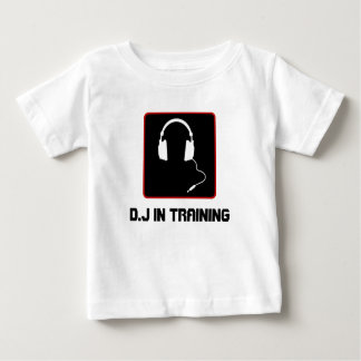 Cute D.J in training shirt for toddlers