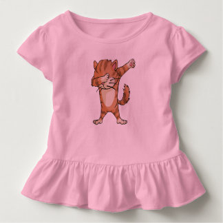 Cute Dab Cat Dabber Dance Toddler T-shirt