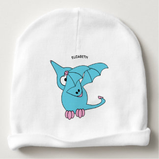 Cute Dabbing Flying Funny Pterodactyl Dinosaur Baby Beanie