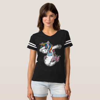 Cute Dabbing Mermaid Unicorn T-shirt