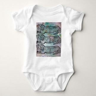 Cute Dachshund Baby Bodysuit