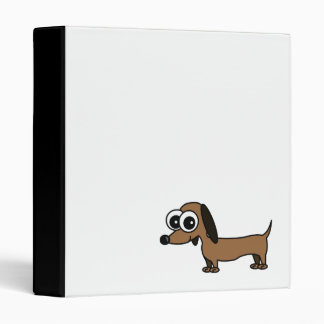Cute Dachshund Binder