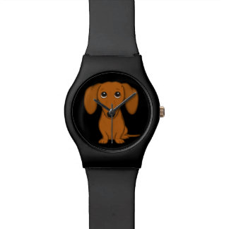Cute Dachshund | Cartoon Wiener Dog Watch