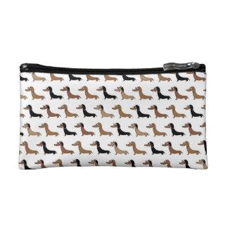 Cute Dachshund Cosmetics Bag