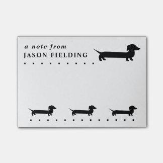 Cute Dachshund Custom Post-it Notes