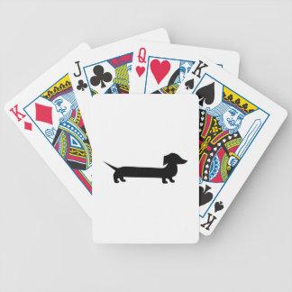 Cute Dachshund Poker Deck