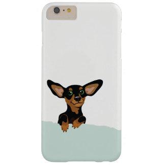 Cute Dachshund puppy illustration iphone case
