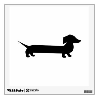 Cute Dachshund Wall Sticker
