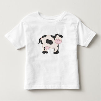 Cute Dairy Cow Toddler T-shirt