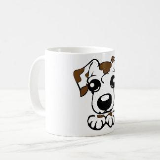 cute dal toon peeking liver coffee mug