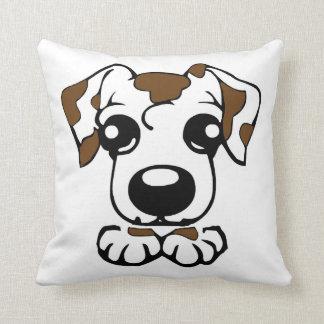 cute dal toon peeking liver throw pillow