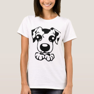 cute dal toon peeking T-Shirt