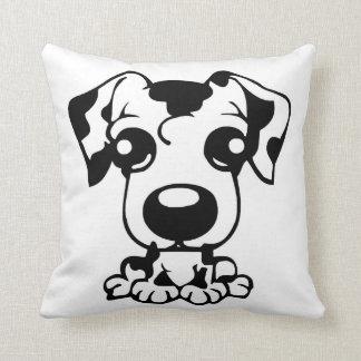 cute dal toon throw pillow