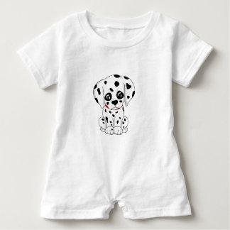 Cute Dalmatian puppy Baby Romper