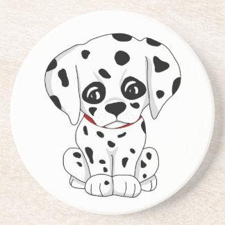Cute Dalmatian puppy Coaster