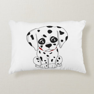 Cute Dalmatian puppy Decorative Pillow