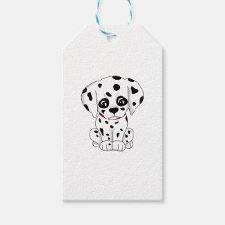 Cute Dalmatian puppy Gift Tags