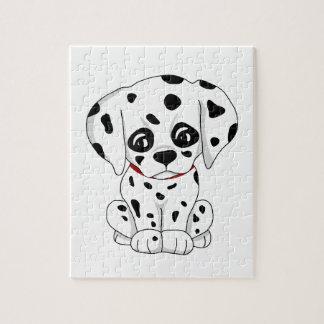 Cute Dalmatian puppy Jigsaw Puzzle