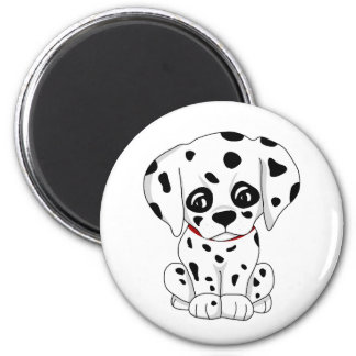 Cute Dalmatian puppy Magnet