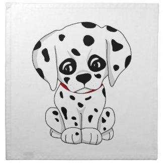 Cute Dalmatian puppy Napkin