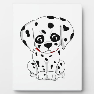 Cute Dalmatian puppy Plaque