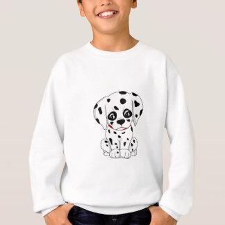 Cute Dalmatian puppy Sweatshirt