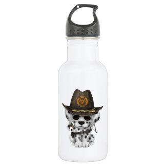 Cute Dalmatian Puppy Zombie Hunter 532 Ml Water Bottle