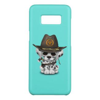 Cute Dalmatian Puppy Zombie Hunter Case-Mate Samsung Galaxy S8 Case