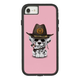 Cute Dalmatian Puppy Zombie Hunter Case-Mate Tough Extreme iPhone 8/7 Case