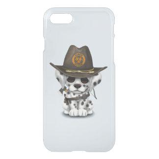 Cute Dalmatian Puppy Zombie Hunter iPhone 8/7 Case