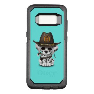 Cute Dalmatian Puppy Zombie Hunter OtterBox Commuter Samsung Galaxy S8 Case