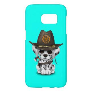 Cute Dalmatian Puppy Zombie Hunter Samsung Galaxy S7 Case