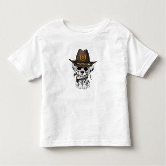 Cute Dalmatian Puppy Zombie Hunter Toddler T-shirt