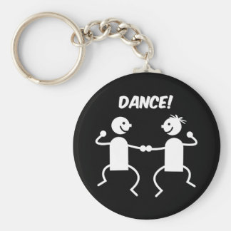Cute dance keychain