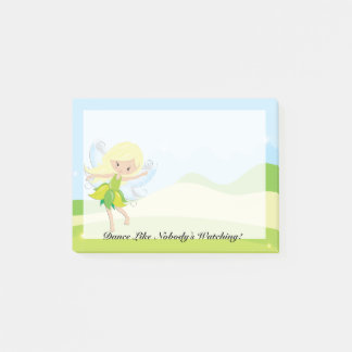 Cute Dancing Fairy Nymph Post-it Notes