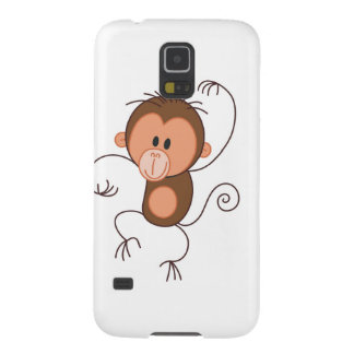 Cute Dancing Monkey Cases For Galaxy S5