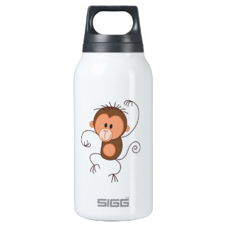 Cute Dancing Monkey SIGG Thermo 0.3L Insulated Bottle
