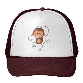 Cute Dancing Monkey Trucker Hat