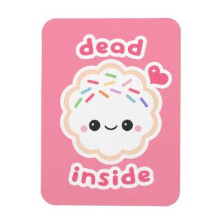 Cute Dead Inside Cookie Magnet
