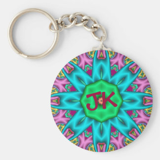 Cute decorative keychain with Monogram