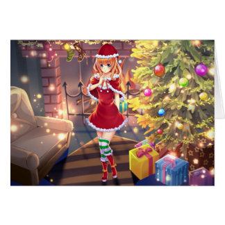 Cute Dee Dee Christmas Card