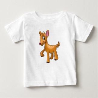 cute deer cartoon baby shirt