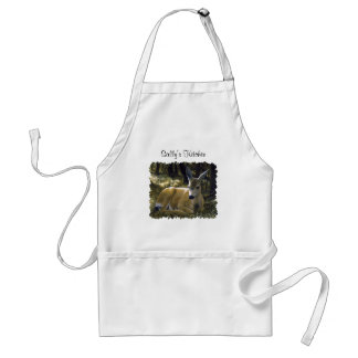 Cute Deer Fawn Lying Down Standard Apron