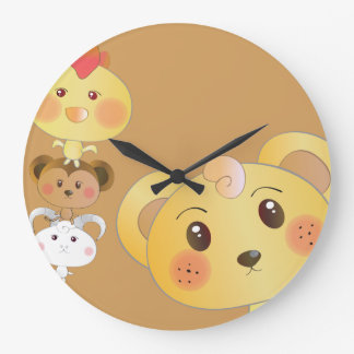 Cute Design! Large Clock