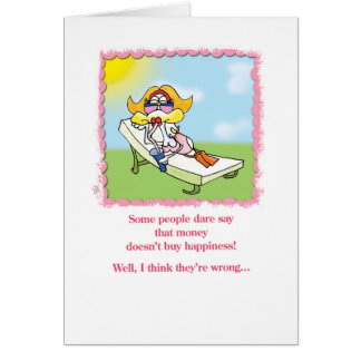 Cute designs that will make you love & laugh card