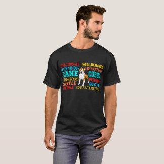Cute Devoted Affectionate Cane Corso Dog Tshirt
