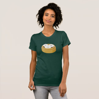 Cute Dim Sum Buns Bamboo Container Women's T-Shirt