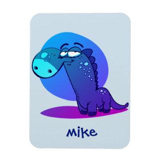 cute dino kid funny cartoon magnet