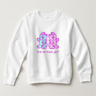Cute dinosaur duo sweatshirt